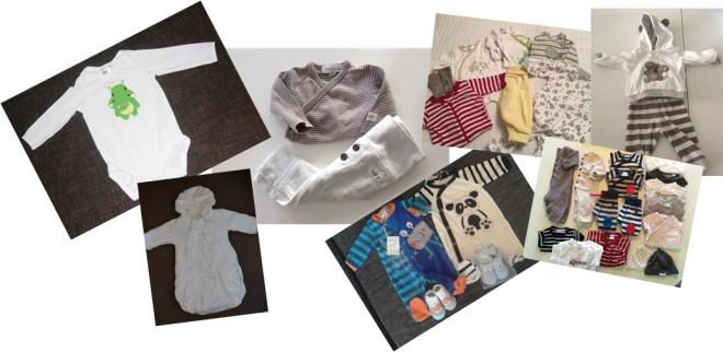 babykläder från Tradera