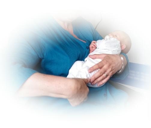 hålla i en nyfödd