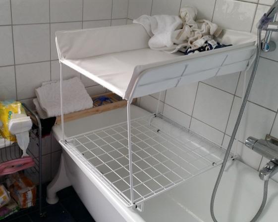 tvättbjörne på plats