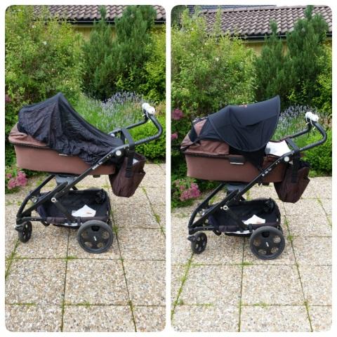 solskydd till barnvagn