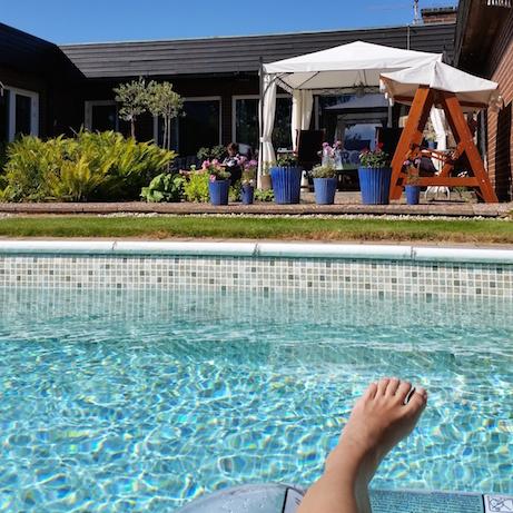 Jag fick en egen timme i poolen
