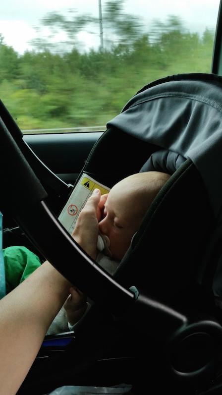 roadtrip med bebis