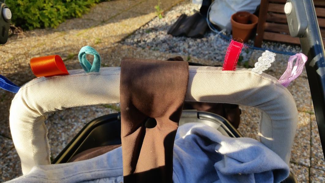 pillband till barnvagn brio