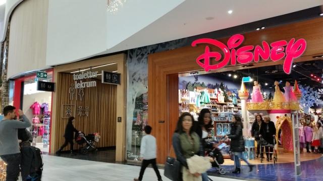 MOS Disney Toaletter lekrum