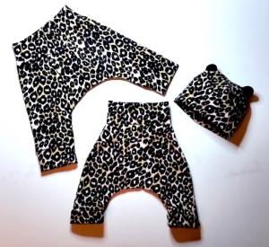 nyfödd leopard