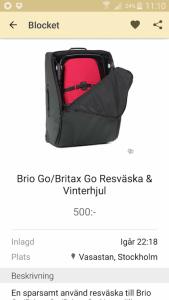 vinterhjul till barnvagnen